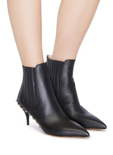 Valentino Rockstud welt leather Chelsea boots