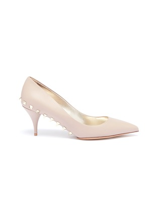 Main View - Click To Enlarge - Valentino - Rockstud welt leather pumps