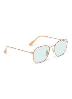 Ray-Ban 'Hexagonal' frame metal sunglasses