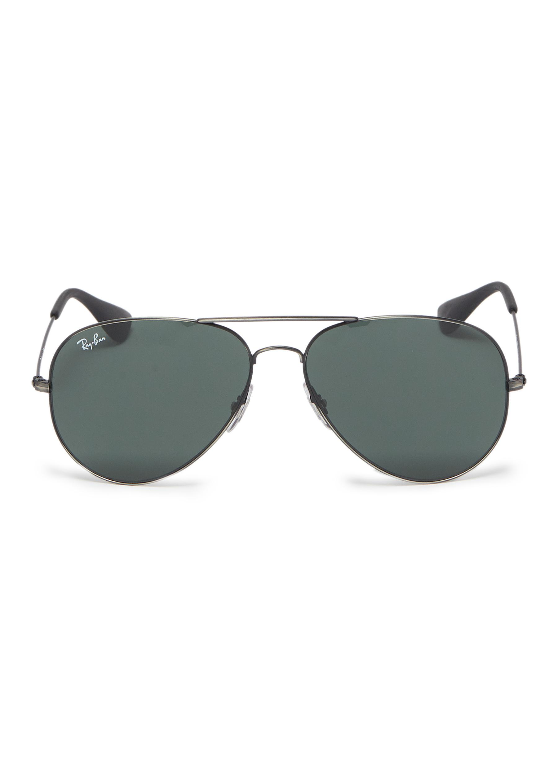 Main View - Click To Enlarge - Ray-Ban -  RB3558  mirror metal 956776993798d