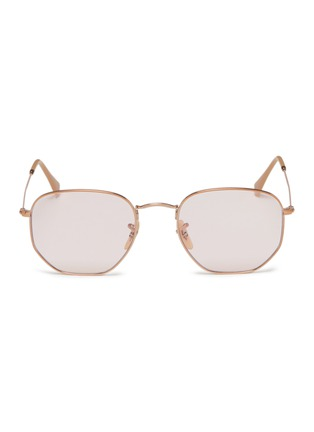 b829124415 Ray-Ban.  Hexagonal  frame metal sunglasses