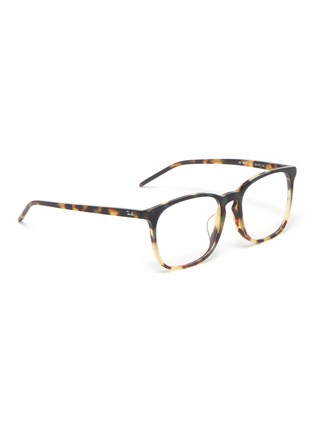 af01adb652a3 Figure View - Click To Enlarge - RAY-BAN - 'RX5387' tortoiseshell acetate