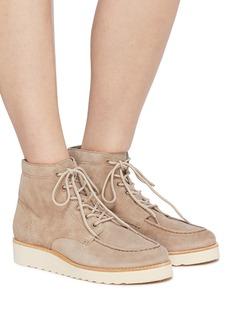 Vince 'Finley' suede platform hiking boots