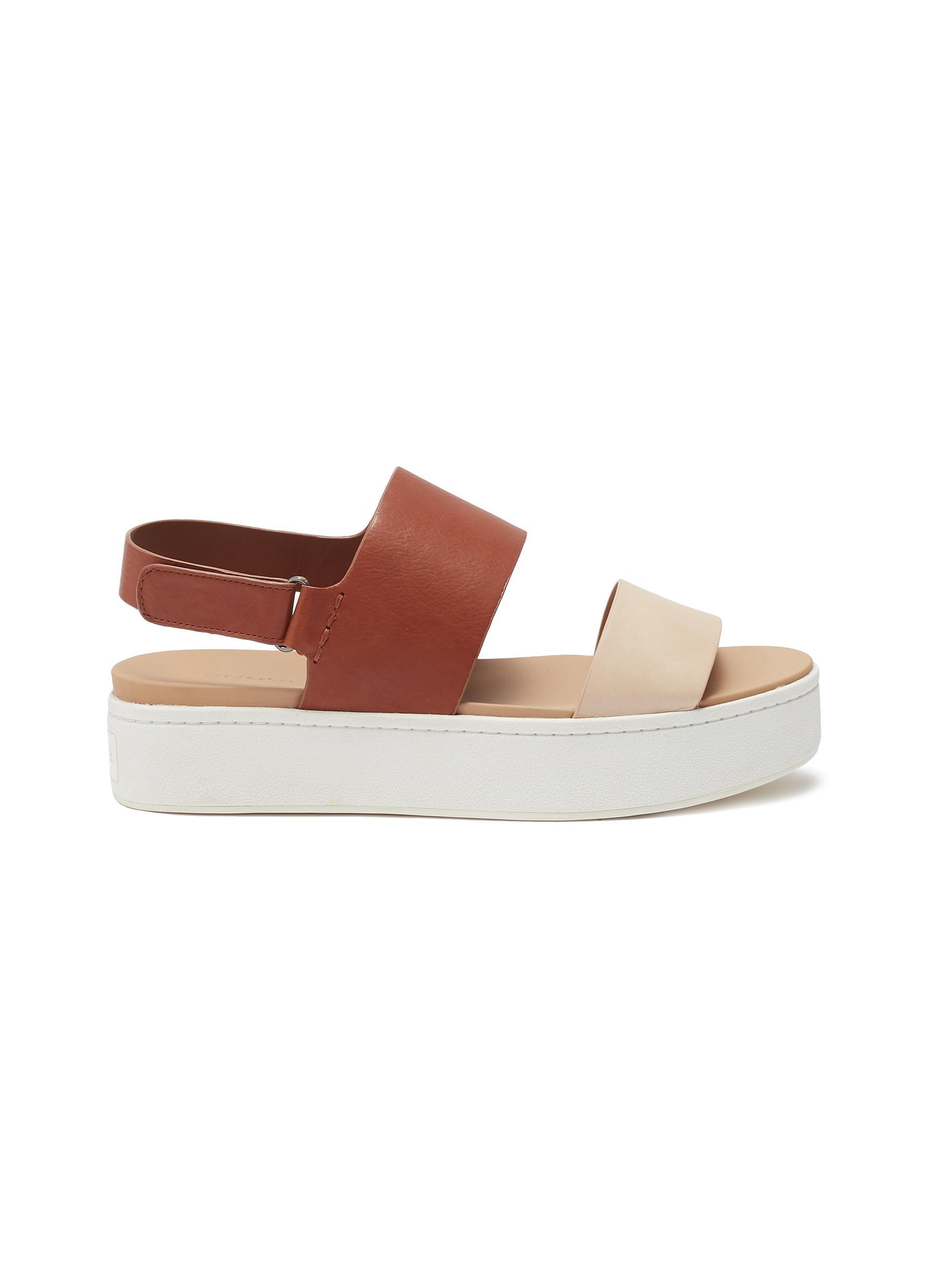 5f4f330ef19 Main View - Click To Enlarge - Vince -  Westport  leather slingback platform  sandals