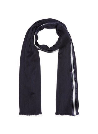 Main View - Click To Enlarge - Valentino - Contrast border scarf