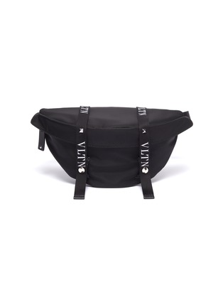 Main View - Click To Enlarge - VALENTINO - Logo strap bum bag