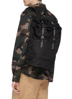 Valentino Logo strap backpack