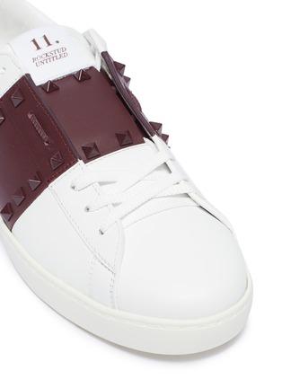colourblock leather sneakers | Men