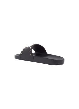 - VALENTINO - Rockstud slide sandals