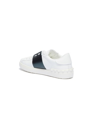 - VALENTINO - 'Open' colourblock leather sneakers