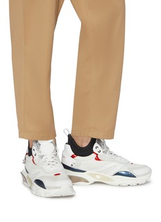 Valentino 'Bounce' chunky outsole patchwork sneakers