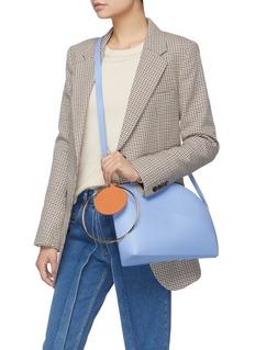 Roksanda 'Eartha' ring handle medium leather shoulder bag