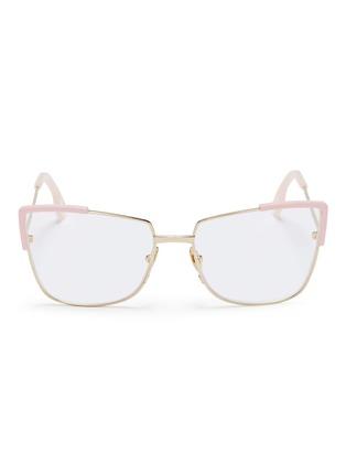 6bc868c877b9 ZANZAN  Totto  metal square optical glasses ...