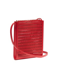 Alaïa 'Vienne' geometric lasercut leather crossbody bag
