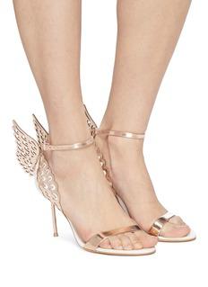 Sophia Webster 'Evangeline' angel wing appliqué leather sandals