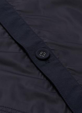 - nanamica - Nylon panel ALPHADRY® cardigan