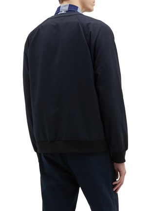 Back View - Click To Enlarge - NANAMICA - Nylon panel ALPHADRY® cardigan