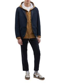 nanamica 'Club' notched lapel ALPHADRY® soft blazer