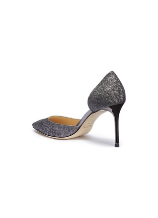 - JIMMY CHOO - 'Esther 85' coarse glitter d'Orsay pumps