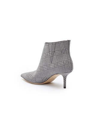 - JIMMY CHOO - 'Marinda 65' Prince of Stars check plaid ankle boots