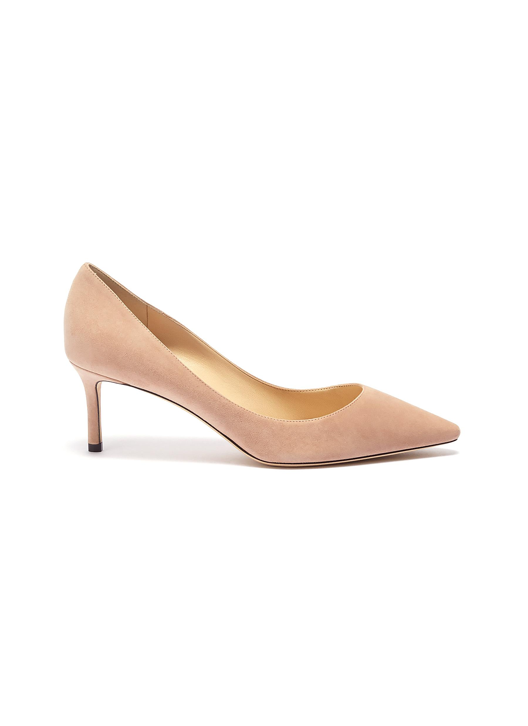Romy 60 suede pumps by Jimmy Choo