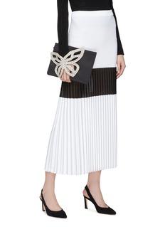 Sophia Webster 'Flossy Butterfly' appliqué leather pouch