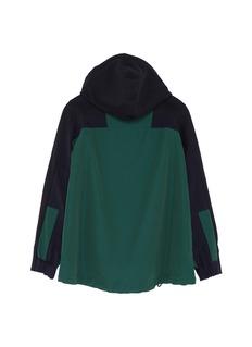 Sacai Colourblock contrast back kids zip hoodie
