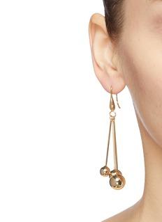 Kenneth Jay Lane Ball link drop earrings