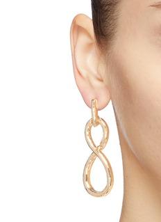 Kenneth Jay Lane Infinity loop drop earrings
