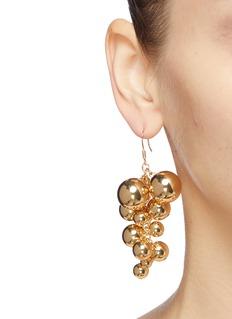 Kenneth Jay Lane Ball cluster drop earrings