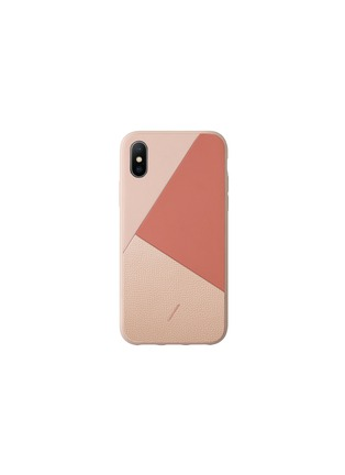 Main View - Click To Enlarge - NATIVE UNION - CLIC Marquetry iPhone X/XS case – Rose