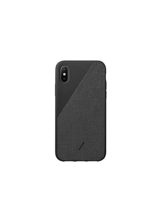 Main View - Click To Enlarge - NATIVE UNION - CLIC Canvas iPhone X/XS case – Black