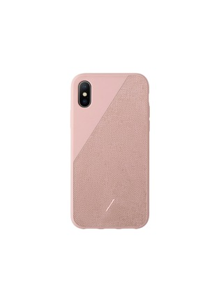 Main View - Click To Enlarge - NATIVE UNION - CLIC Canvas iPhone XS Max case –Rose