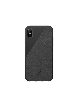 Main View - Click To Enlarge - NATIVE UNION - CLIC Canvas iPhone XS Max case –Black