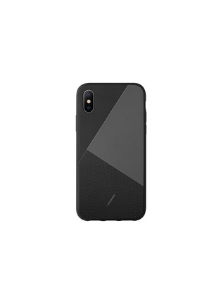 Main View - Click To Enlarge - NATIVE UNION - CLIC Marquetry iPhone X/XS case – Black