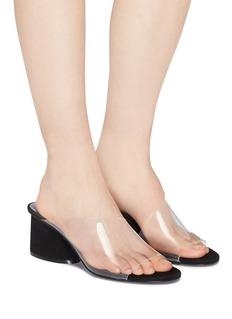 Mercedes Castillo 'Kuri Mid' PVC sandals
