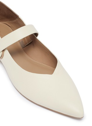 Detail View - Click To Enlarge - MERCEDES CASTILLO - 'Amabel' colourblock leather Mary Jane step-in flats