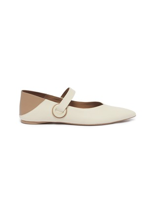 Main View - Click To Enlarge - MERCEDES CASTILLO - 'Amabel' colourblock leather Mary Jane step-in flats