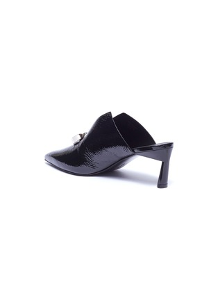 - MERCEDES CASTILLO - 'Ainsley' oversized nailhead disc leather mules