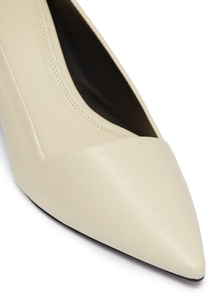 Detail View - Click To Enlarge - Mercedes Castillo - 'Kioko Mid' leather pumps
