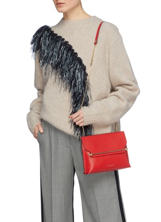 Front View - Click To Enlarge - STRATHBERRY - 'Stylist' leather clutch