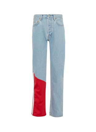 Main View - Click To Enlarge - Vetements - x Levi Strauss & Co. contrast panel patchwork jeans