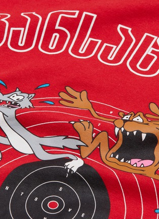 - VETEMENTS - 'Cartoon' slogan graphic print oversized unisex T-shirt