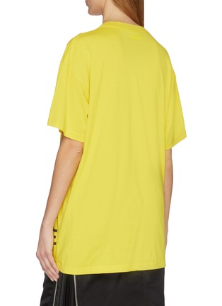 Back View - Click To Enlarge - VETEMENTS - Snake slogan print unisex T-shirt