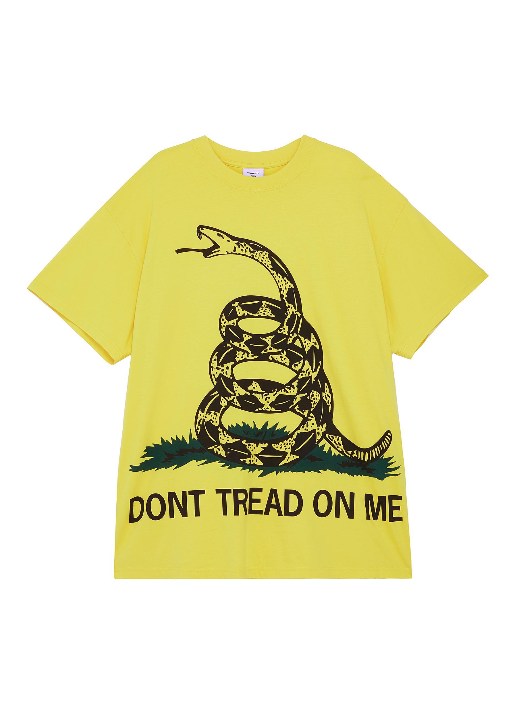 324cb856 Main View - Click To Enlarge - Vetements - Snake slogan print unisex T-shirt