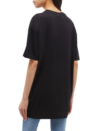 Back View - Click To Enlarge - VETEMENTS - 'Flag' slogan graphic print oversized unisex T-shirt