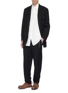 Yohji Yamamoto Mix pocket double placket shirt