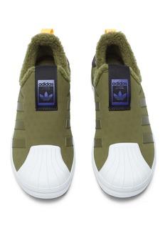 Adidas 'Superstar Winter 360 C' mesh kids slip-on sneakers