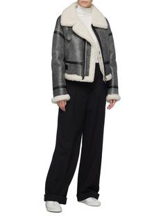 COMME MOI Sheepskin shearling jacket