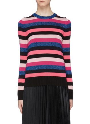 Main View - Click To Enlarge - MONCLER - 'Maglia' stripe sweater